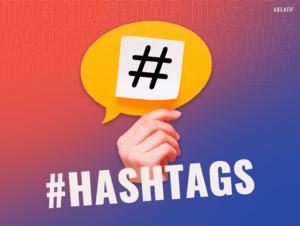 como usar hashtags?