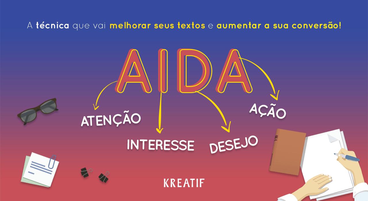 AIDA – A técnica que vai melhorar seus textos e aumentar a sua conversão