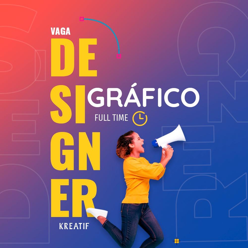 Vaga Designer Grafico