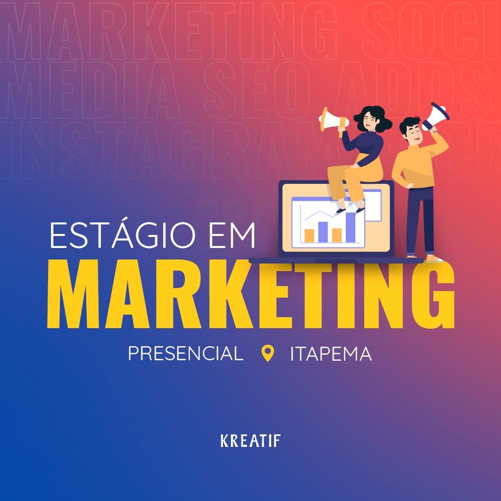 estágio marketing digital